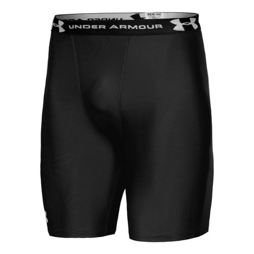 Mens Under Armour Heatgear Compression Fitted Shorts - Black L