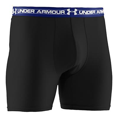 """Mens Under Armour UA Mesh 6"""" Boxer Brief Underwear Bottoms"""