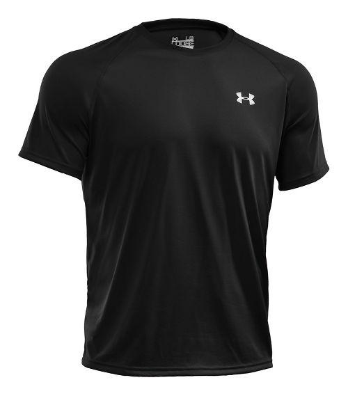 Mens Under Armour Tech Short Sleeve T Technical Tops - Black 3XL