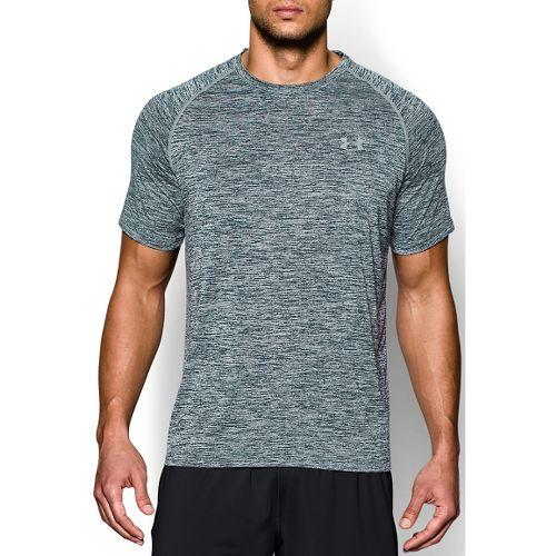 Mens Under Armour Tech Short Sleeve T Technical Tops - Academy 4XL