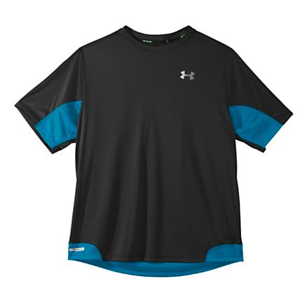 Mens Under Armour Heatgear Flyweight Run T Short Sleeve Technical Tops