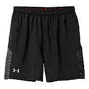 "Mens Under Armour Shirtless Run 7"" Lined Shorts"
