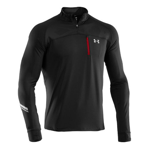 Mens Under Armour UA Imminent Run 1/4 Zip Long Sleeve 1/2 Zip Technical Tops - ...