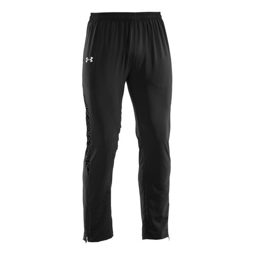 Mens Under Armour UA Imminent Run Full Length Pants - Black L