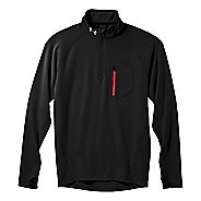 Mens Under Armour UA Coldgear Thermo Run 1/4 Zip Long Sleeve 1/2 Zip Technical Tops