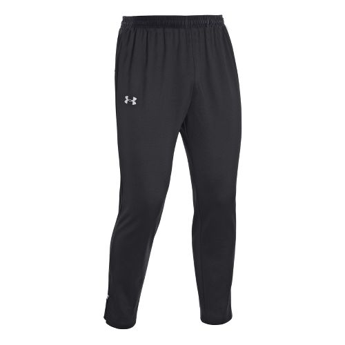 Mens Under Armour UA Coldgear Thermo Run Full Length Pants - Black L