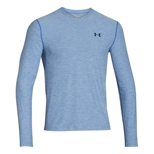 Mens Under Armour Coldgear Infrared T Long Sleeve No Zip Technical Tops - Scatter/Academy M ...