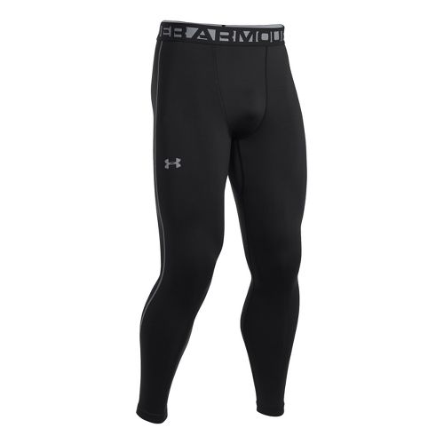 Mens Under Armour EVO Coldgear Compression Legging Fitted Tights - Black L