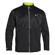 Mens Under Armour UA Coldgear Infrared Chrome Heavy Jacket