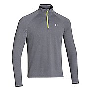 Mens Under Armour Heatgear Flyweight Run 1/4 Zip Long Sleeve 1/2 Zip Technical Tops