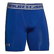 Mens Under Armour Heatgear Armour Compression Short Boxer Brief Underwear Bottoms