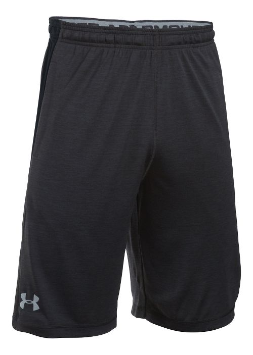 Mens Under Armour Raid Printed Unlined Shorts - Black/Black XL