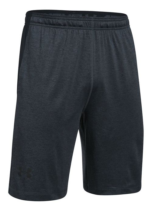 Mens Under Armour Raid Printed Unlined Shorts - Stealth Grey/Black L
