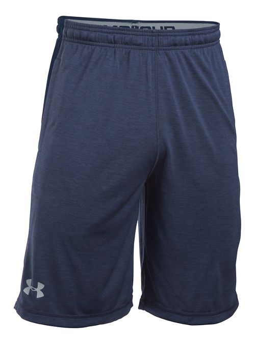 Mens Under Armour Raid Printed Unlined Shorts - Midnight S