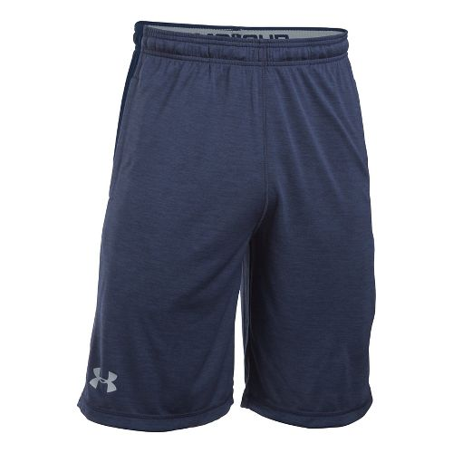 Mens Under Armour Raid Printed Unlined Shorts - Midnight XL
