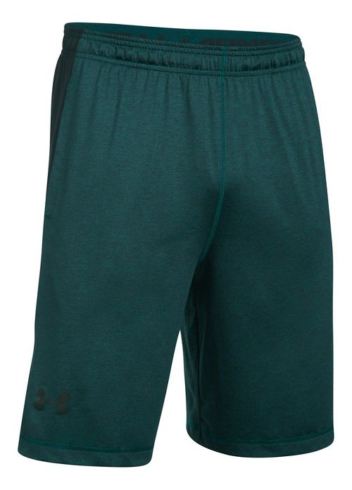Mens Under Armour Raid Printed Unlined Shorts - Arden Green/Black XXL