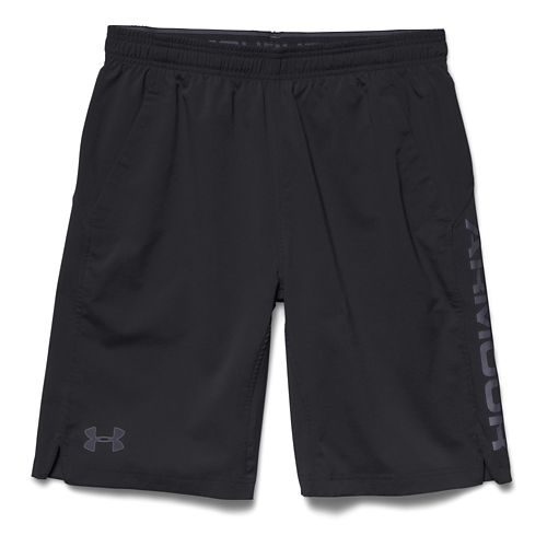 Mens Under Armour Hiit Unlined Shorts - Black/Steel XL