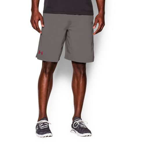Mens Under Armour Hiit Unlined Shorts - Tan Stone/Graphite M