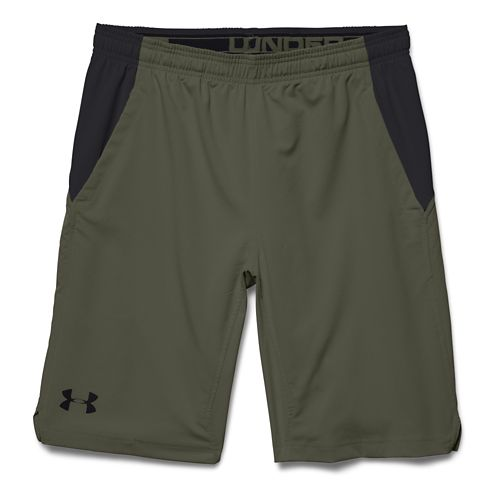 Mens Under Armour Hiit Unlined Shorts - Rough/Black S