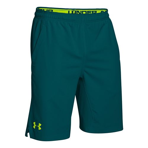 Mens Under Armour Hiit Unlined Shorts - Hydro Teal S