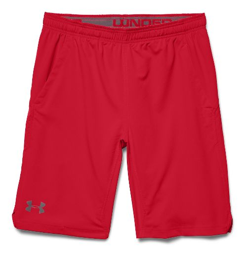 Mens Under Armour Hiit Unlined Shorts - Red/Red M