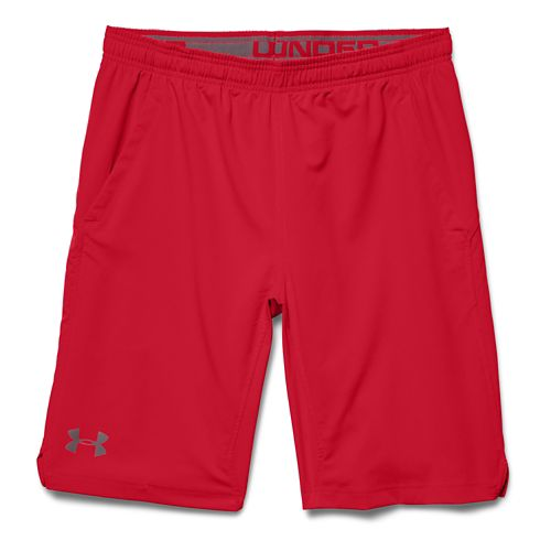 Mens Under Armour Hiit Unlined Shorts - Red/Red S