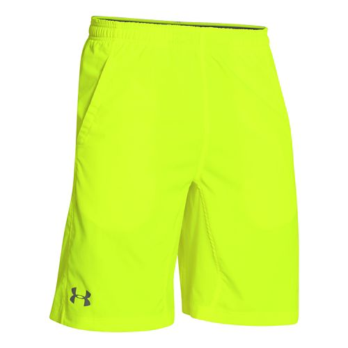 Mens Under Armour Hiit Unlined Shorts - Neon Yellow M