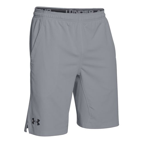 Mens Under Armour Hiit Unlined Shorts - Steel L