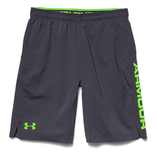 Mens Under Armour Hiit Unlined Shorts - Rough/Black 3XL