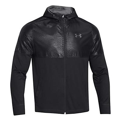 Mens Under Armour Light Weight Full Zip Jacket Warm-Up Hooded Jackets