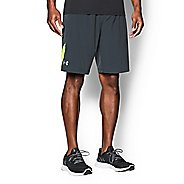 "Mens Under Armour Launch Stretch Woven 9"" Lined Shorts"