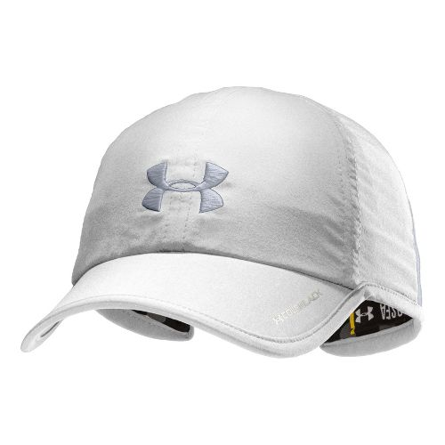 Womens Under Armour Shadow Cap Headwear - White