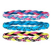 Womens Under Armour Braided Mini Headbands 3 pack Headwear