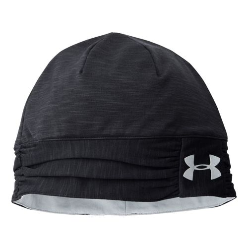Womens Under Armour Cozy Coldgear Infrared Beanie Headwear - Black