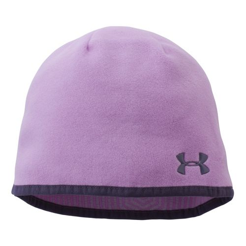 Womens Under Armour Storm Fleece Beanie Headwear - Lilac