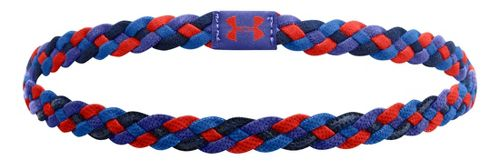 Womens Under Armour 4-Braid Mini Headband Headwear - Iris