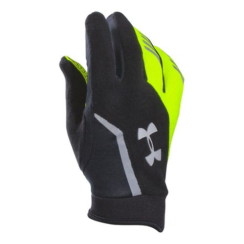 Mens Under Armour Escape Coldgear Infrared Gloves Handwear - High Viz M