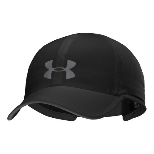 Mens Under Armour UA Armourvent Adjustable Cap Headwear - Black/Graphite