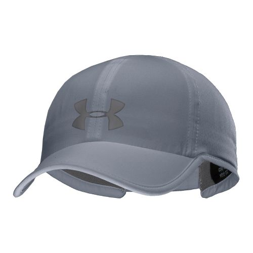 Mens Under Armour UA Armourvent Adjustable Cap Headwear - Steel/Graphite