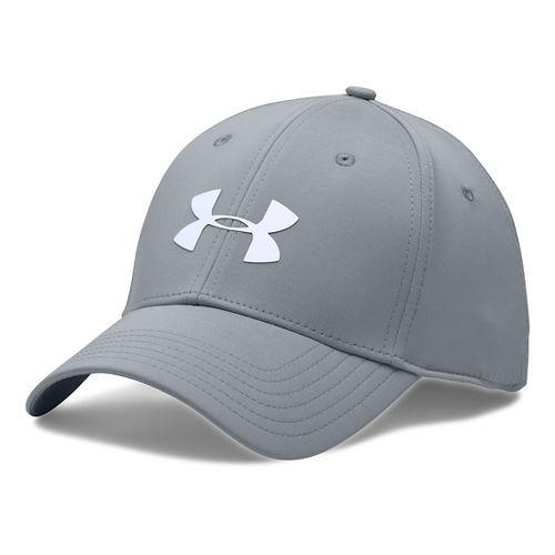 Mens Under Armour UA Headline Stretch Fit Cap Headwear - Overcast Grey XL/XXL