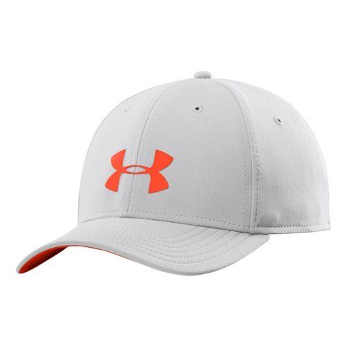 Mens Under Armour UA Headline Stretch Fit Cap Headwear - Elemental XL/XXL
