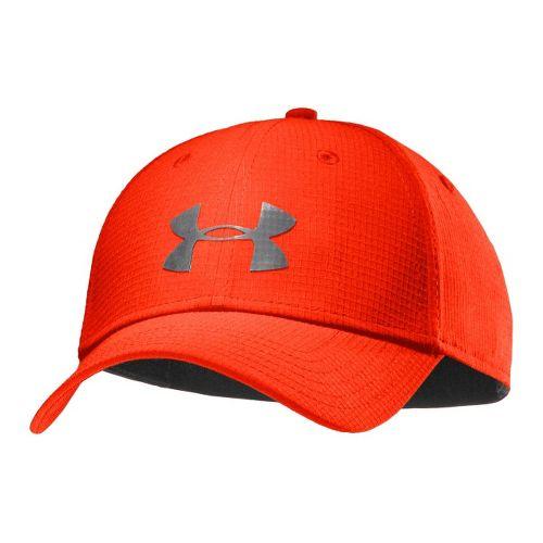 Mens Under Armour UA Headline Stretch Fit Cap Headwear - Noise/Graphite L/XL