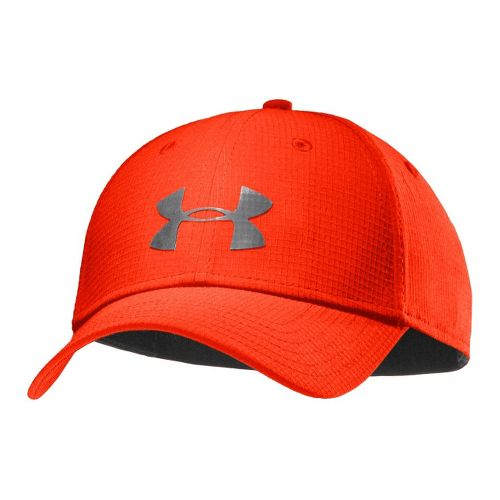Mens Under Armour UA Headline Stretch Fit Cap Headwear - Noise/Graphite M/L