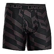 """Mens Under Armour The Original Printed 6"""" Boxer Brief Underwear Bottoms"""