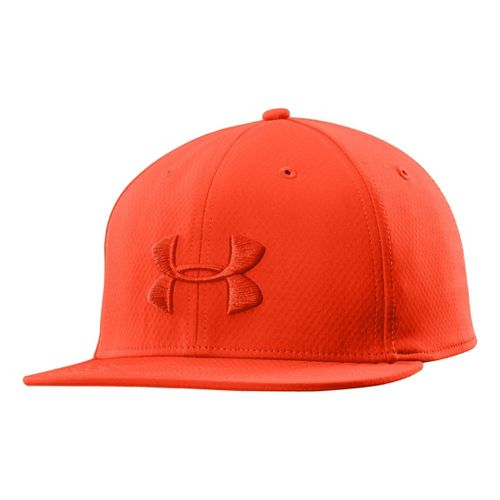 Mens Under Armour UA Elevate Stretch Fit Cap Headwear - Volcano XL/XXL