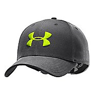 Mens Under Armour UA Washed Adjustable Cap Headwear