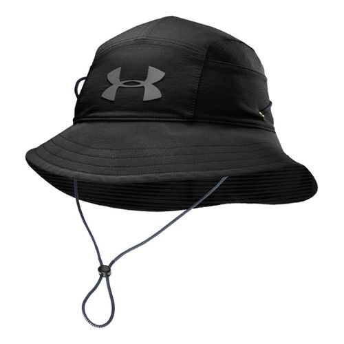 Mens Under Armour UA Switchback Training Bucket Hat Headwear - Black