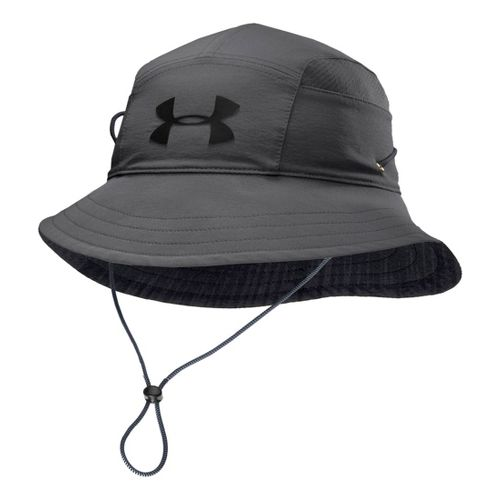 Mens Under Armour UA Switchback Training Bucket Hat Headwear - Graphite