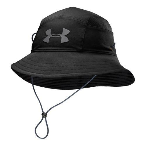 Mens Under Armour UA Switchback Training Bucket Hat Headwear - Red/Black