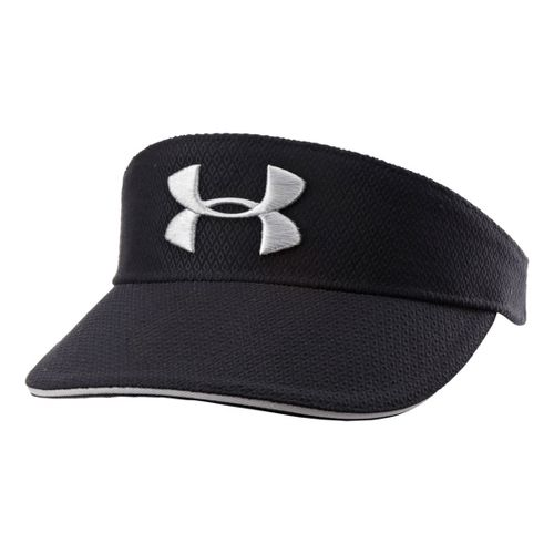 Mens Under Armour UA Tour Visor Headwear - Black/Steel